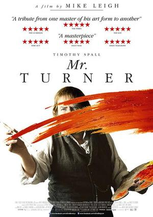 La locandina di Mr. Turner
