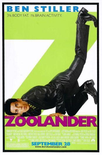 Il poster di Zoolander