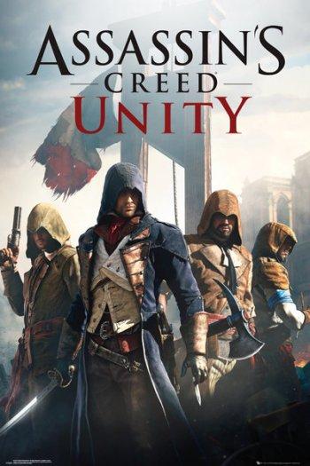Poster promozionale di Assassin's Creed Unity
