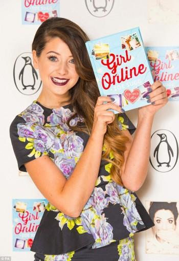 Zoella alla presentazione di Girl Online
