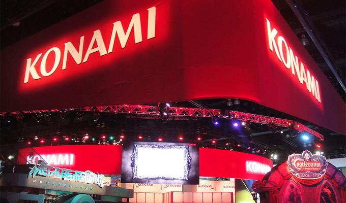 Uno stand Konami