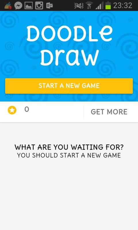 Siamo pronti per provare Doodle Draw