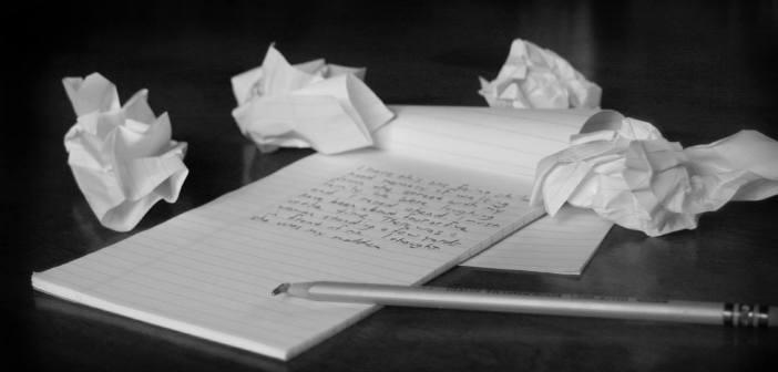Scrivere, scrivere, scrivere
