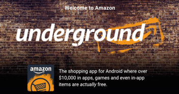 Amazon Underground, lo schiaffo di Amazon a Google