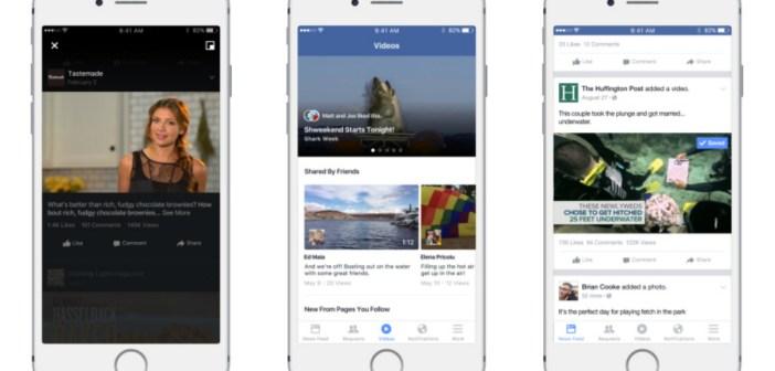 Facebook vuole lanciare una sezione video
