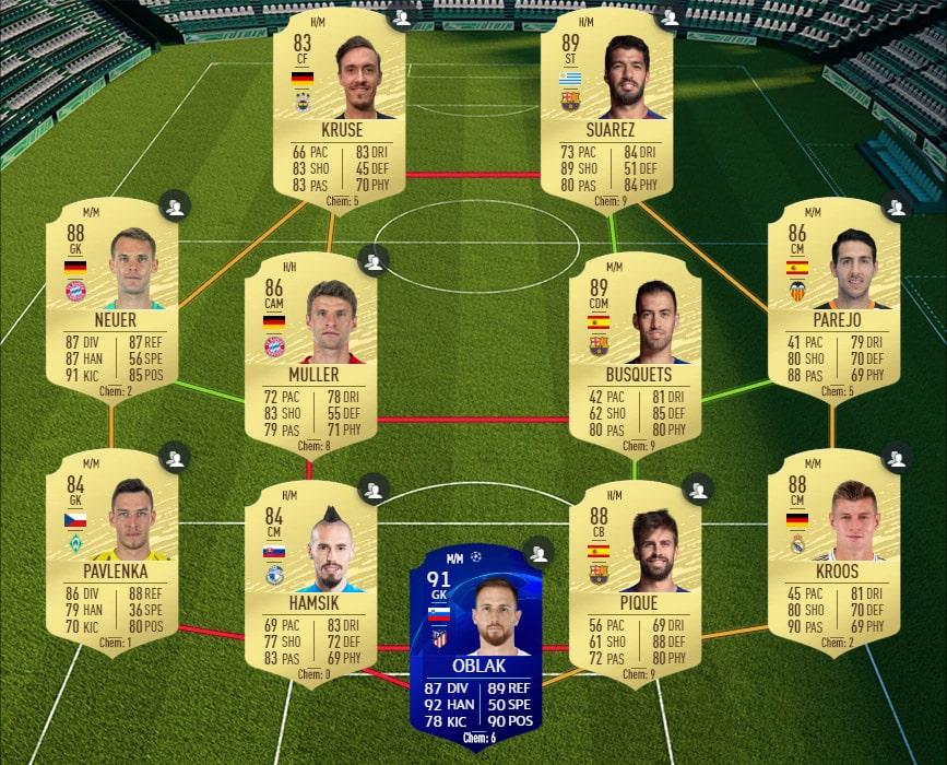 FIFA 20 : Solution DCE POTM Premier League Sadio Mané - Guides