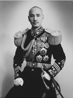 """Chiang_Kai-shek(蔣中正): """"CHERIE! passe moi mon chapeau de Napoleon, je rentre dans l'Histoire la!"""""""