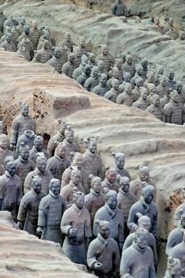L'armee Qin, decouverte dans les annees 70