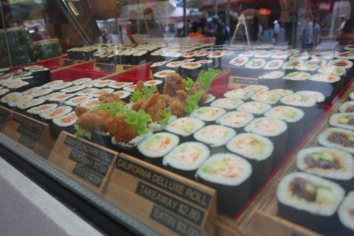 A Chinatown (les sushis, ce sont les chinois du japon non?)