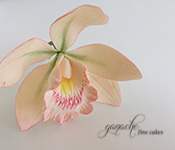 Handcrafted Sugar Flowers- Large Cymbidium Orchid