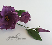 Handcrafted Sugar Flowers- Lisianthus