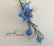 Handcrafted Sugar Flowers- Love In A Mist