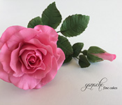 Handcrafted Sugar Flowers- Rose