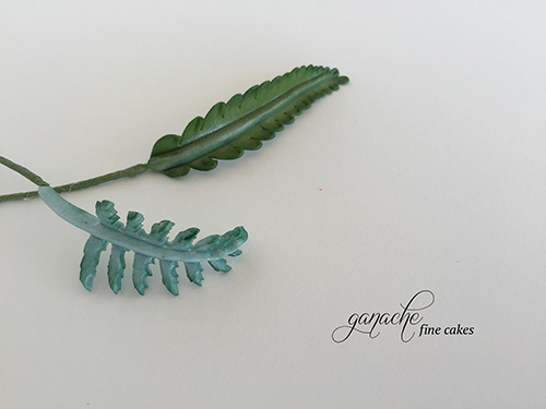 Handmade Sugar Ferns