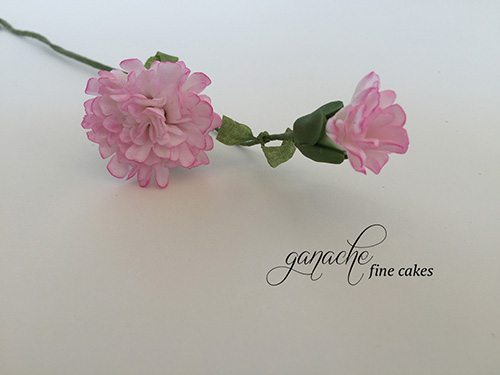 Handmade Sugar Flower- Mini Carnation
