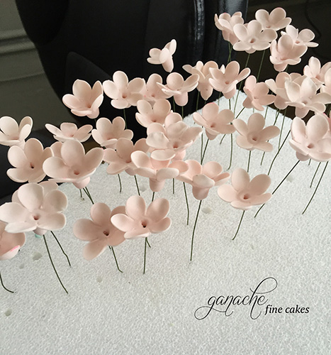 Handmade Sugar Flower- Cherry Blossoms