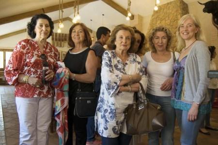 """Algunas de las amigas de la peña """"Las Majas de Goya"""""""
