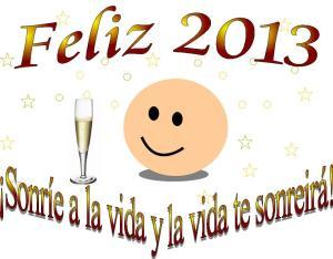 Adiós 2012. Feliz y prospero 2013
