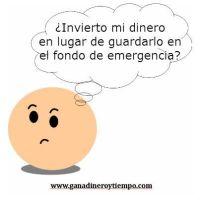 Invierto o guardo en el fondo de emergencia