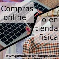 Compras online o en tienda física