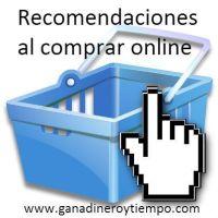 Recomendaciones al comprar online
