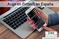 Auge en Fintech en España