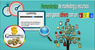 Herramientas de marketing y recursos que te ayudan con tu blog