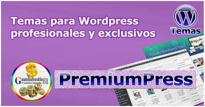 PremiumPress – Temas para WordPress profesionales y exclusivos