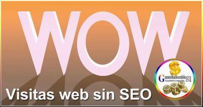 Visitas web sin SEO