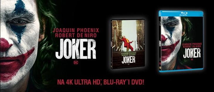 Premiera filmu Joker na DVD i Blu-ray