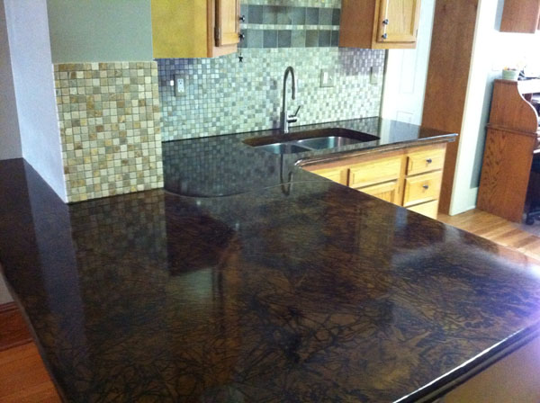 concrete kitchen countertops island G&M Concrete | Concrete Countertops