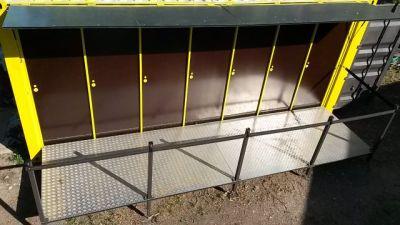 Container vu du dessus