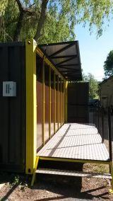 Container de toilettes sèches