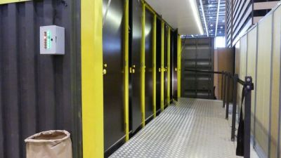 Plateforme d'accès au container