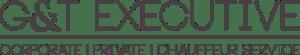 The logo of GandT Executive Chauffeur Taxi Newbury