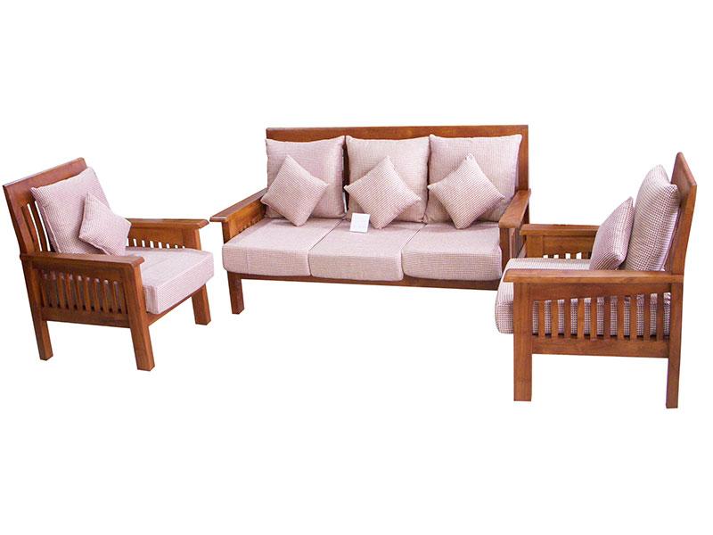 wooden sofa sets designs india modern dark brown leather set ganesh furniture surat gujarat