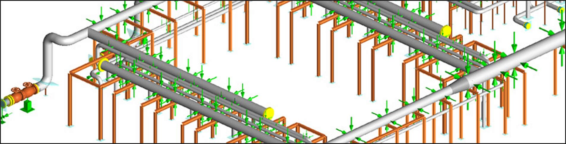 hight resolution of piping layout course