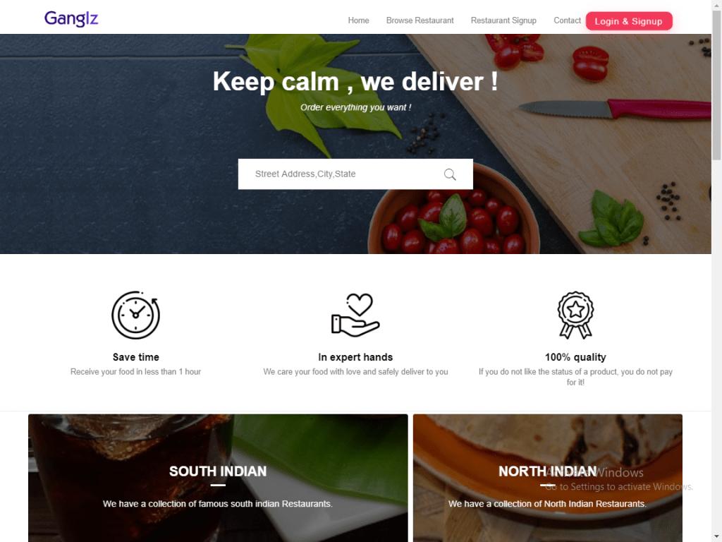 RestoMag – Karenderia Multi Restaurants Template