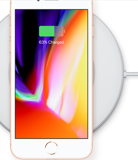 Apple iPhone 8 and 8 Plus wireless charger