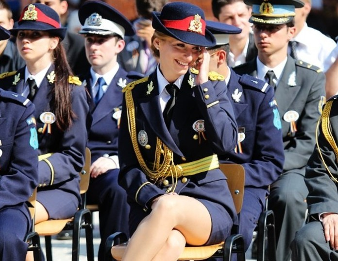 Romania Female Armed Forces