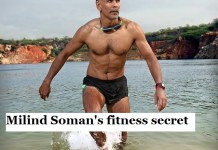 Milind Soman's fitness secret
