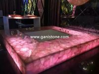 Rose Crystal Bathroom Bathtub Surround