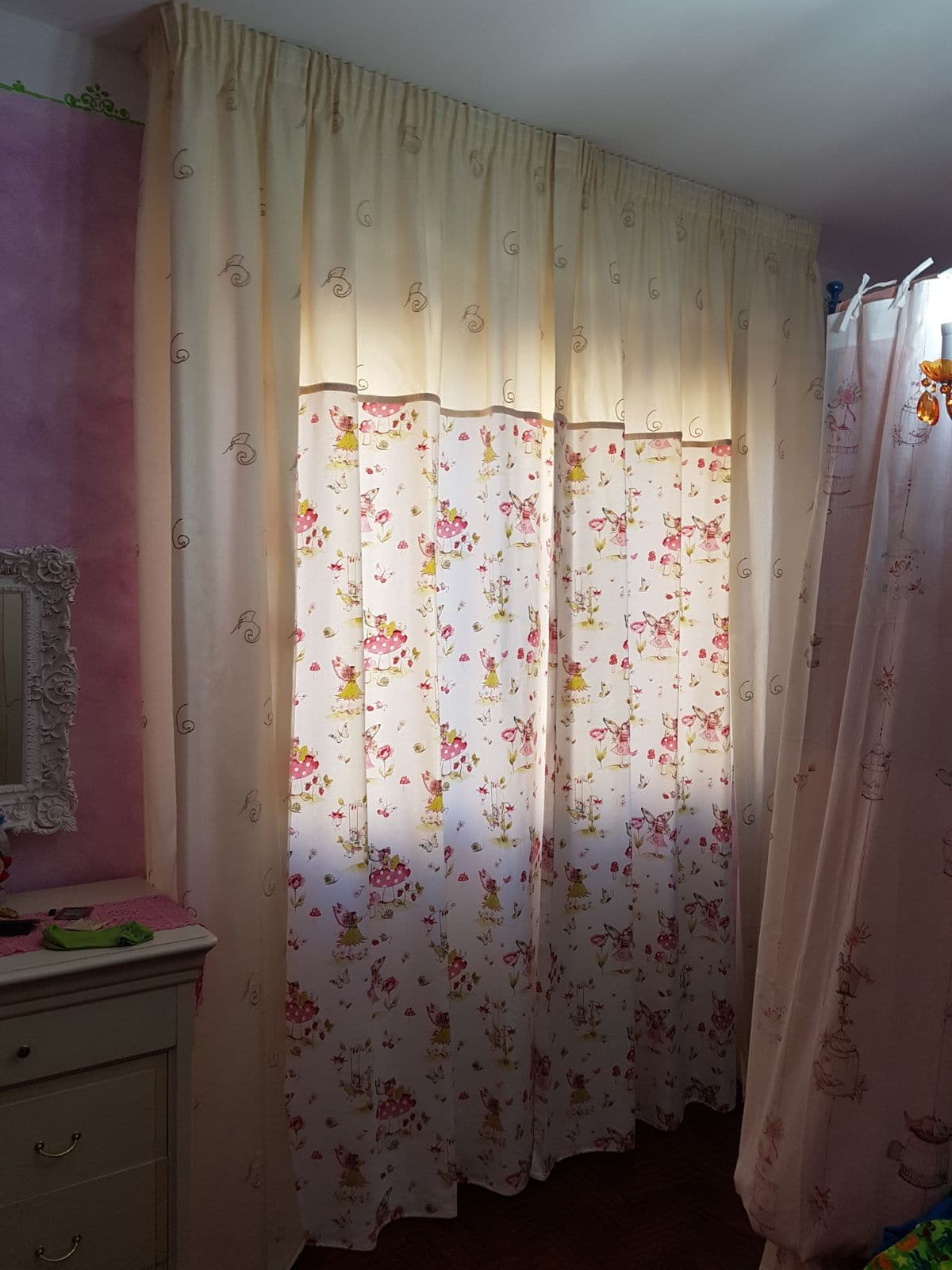 Atelier 17 shabby chic cm 140 x 290 h. Tende Shabby Chic E Country Chic Spiegazioni Consigli E Foto Gani