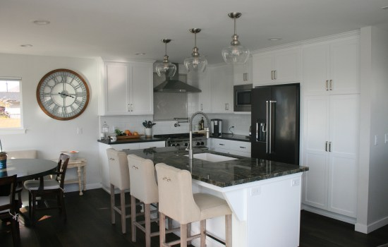 New kitchen remodel with island