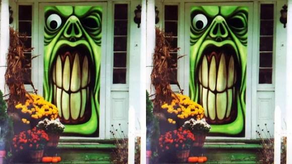 Greenbrier Green Goblin Door Cover
