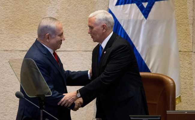 Pence U S Embassy To Move To Jerusalem In 2019