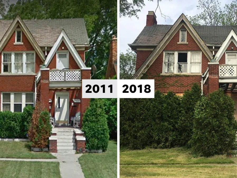 This House Is At 13224 Hubbell Ave. In Detroit.