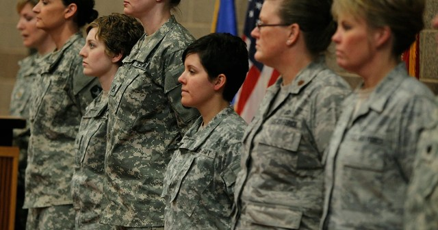 why don't women have to shave their hair off in basic training?