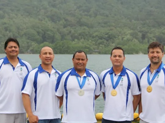 Team Guam's medalists from the 2014 Micronesian Games