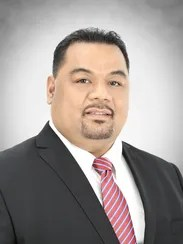 Sen. Robson U. Romolow, Chuuk rep to FSM Congress